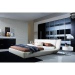 $1,535.00 VIG Furniture - Arctic Modern Bed With Speakers and Iphone Audio Dock - VGWCC175A