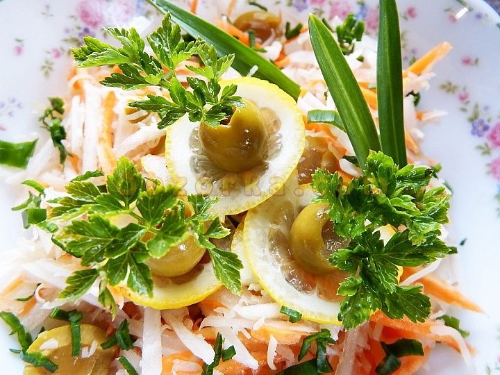 Салат из топинамбура - вкусно и полезно