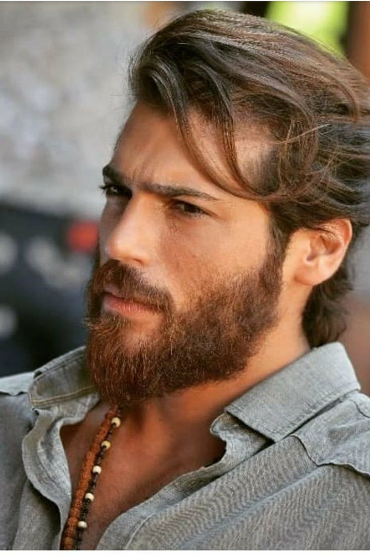 Can Yaman Turkish Actors With Long Hair Long Hair Styles Hot Beards Long Hair Styles Men