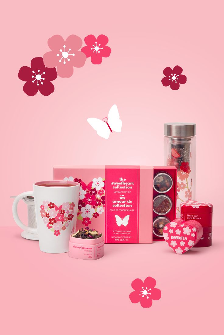 Really want to sweeten them up this Valentine's Day? We've got a huge selection of oh-so romantic gifts that'll make any tea lover's day.