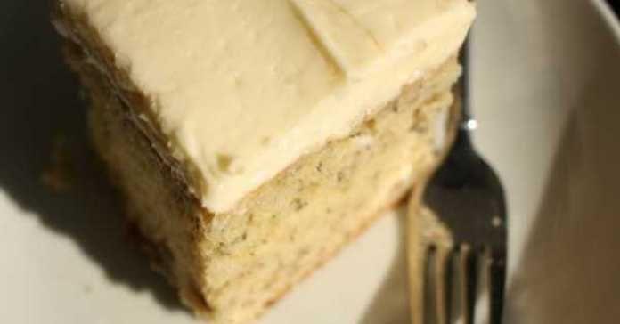 Recept na banánový dort s krémem
