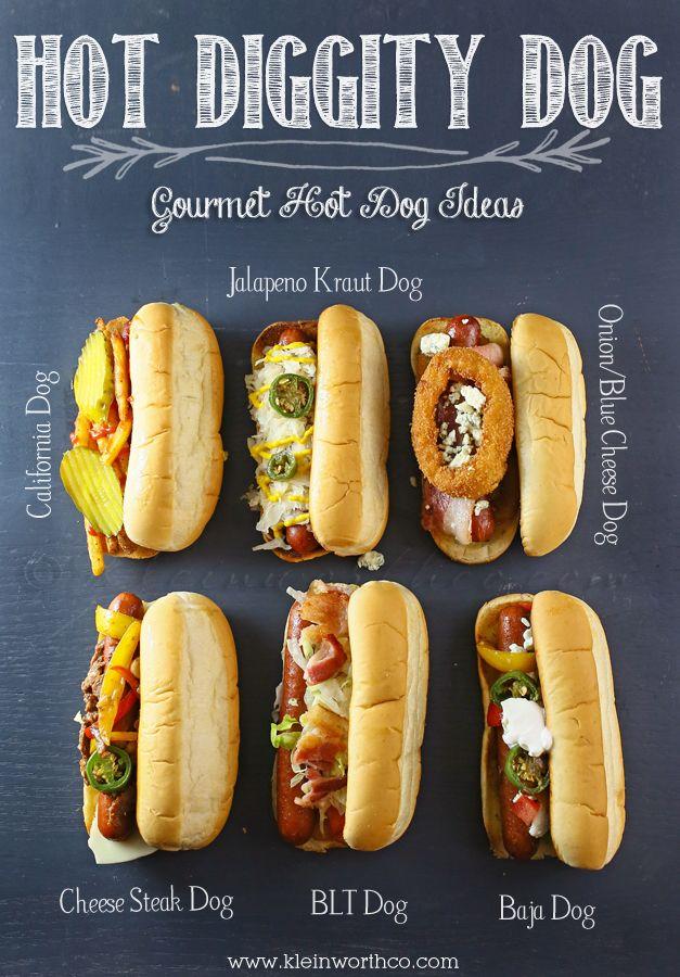 Hot Diggity Dog! Gourmet Hot Dog Ideas