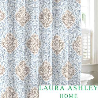 Laura Ashley Winchester Cotton Shower Curtain