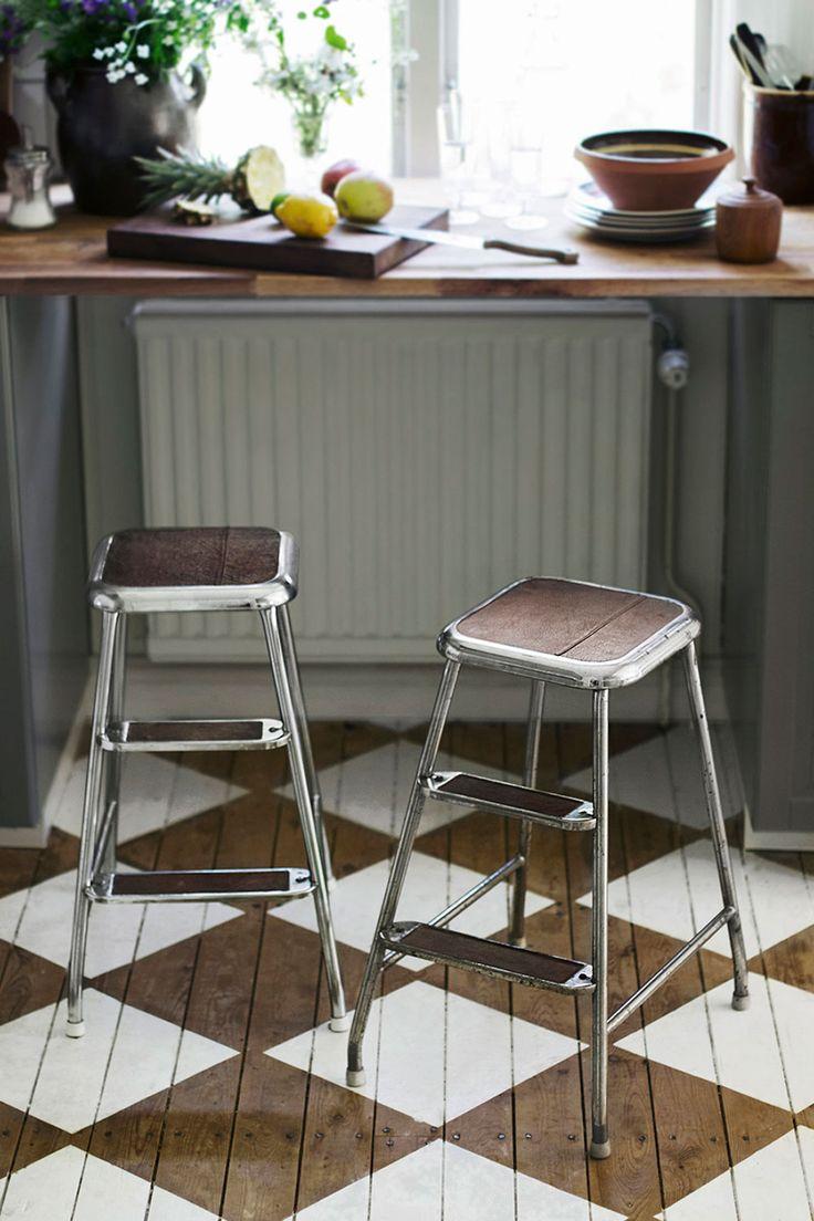 DIY - klä om en stegpall - Plåthuset - Plåthuset