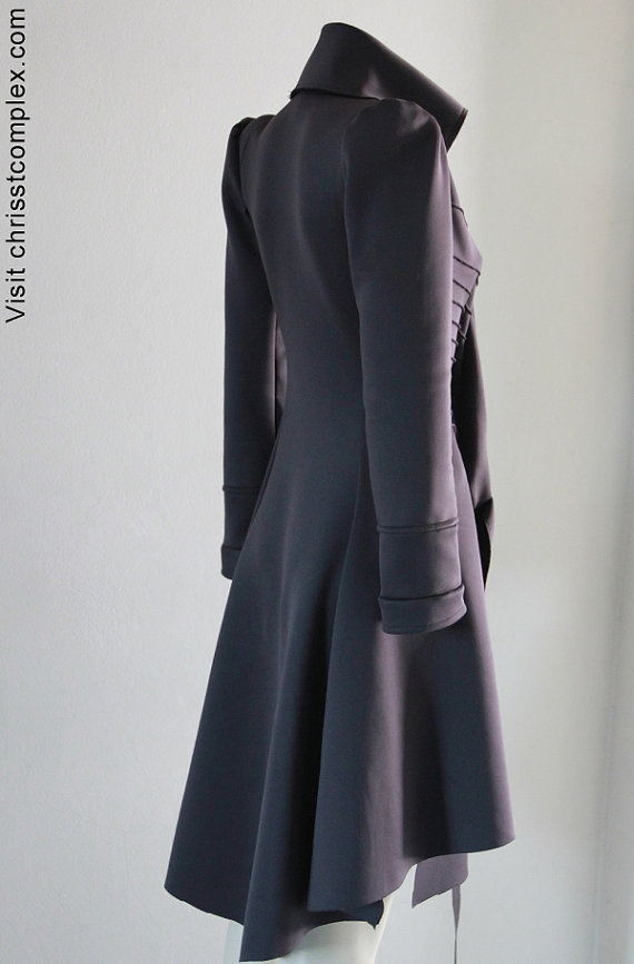Gorgeous! so sleek steam couture...