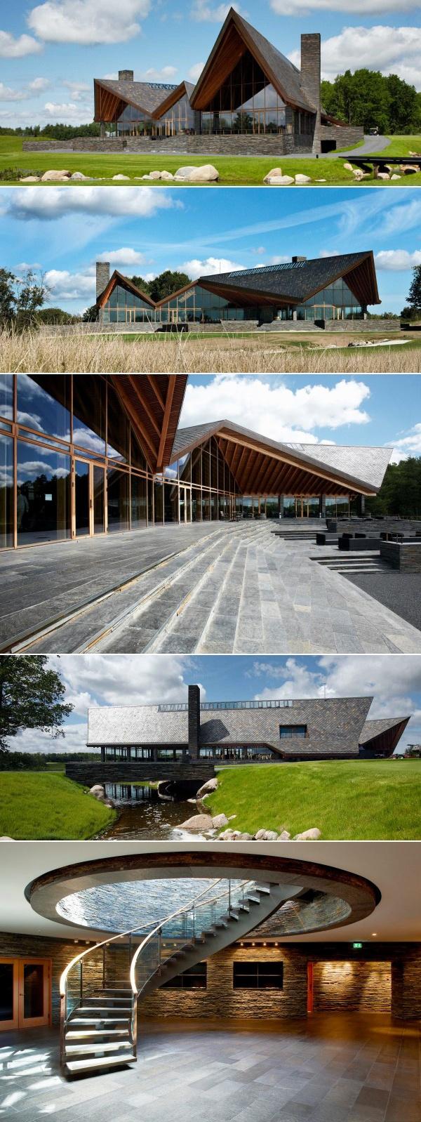 Scandinavian Golf Club #architecture #architectuur #golf #golfclub > www.marington.nl
