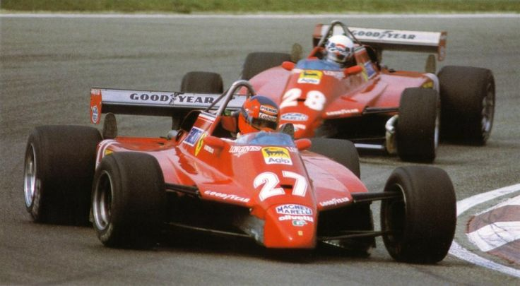 Gilles and Didier Imola Italy, 1982