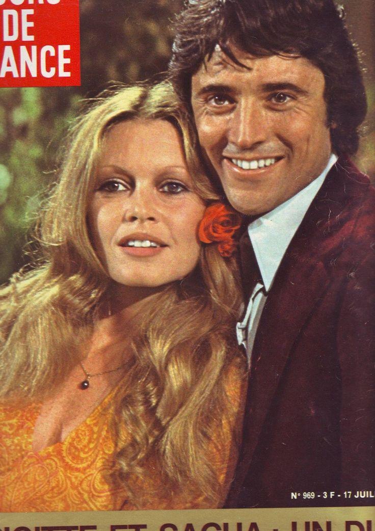 Jours DE France 969 Juillet 1973 Couverture Brigitte Bardot ET Sacha Distel…