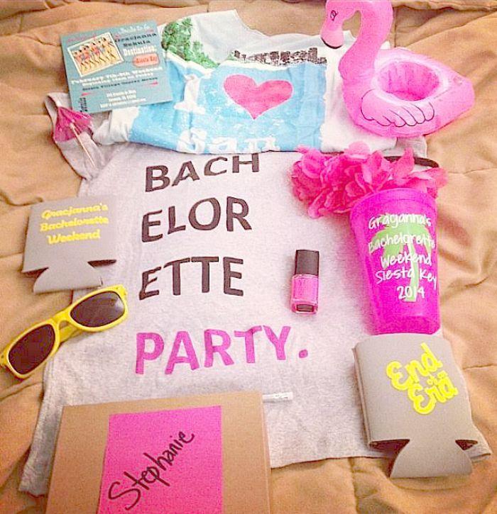 A Retro Themed Bachelorette Pool Party