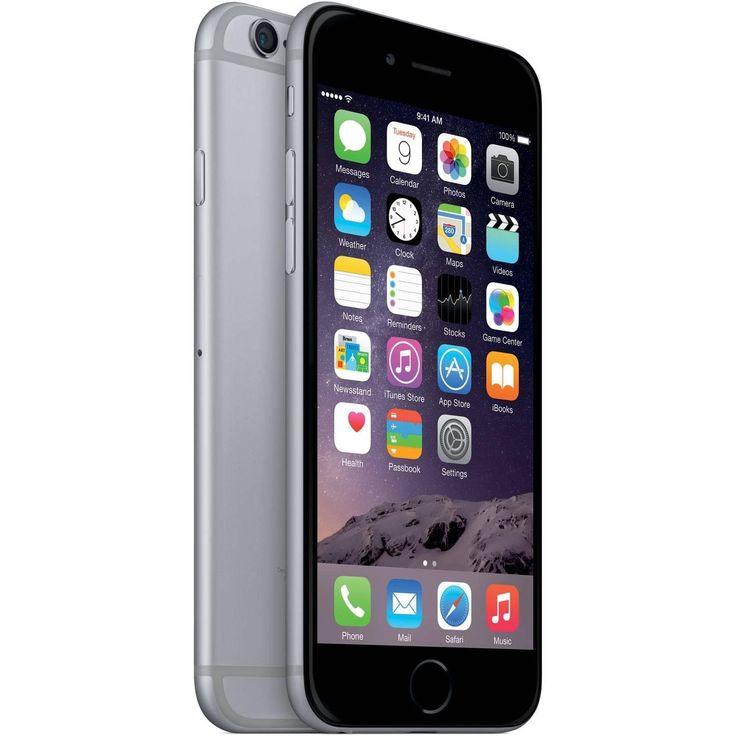 Refurbished Apple iPhone 6, At&t, 64GB, Gray-