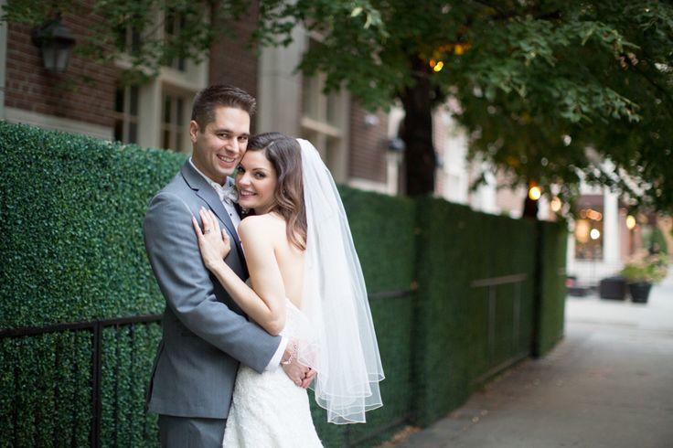 Windsor Arms Hotel Toronto bride and groom