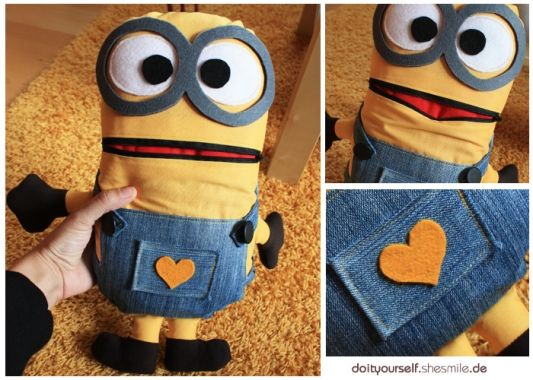 sorgenfresser minion diy pinterest minions and read more. Black Bedroom Furniture Sets. Home Design Ideas