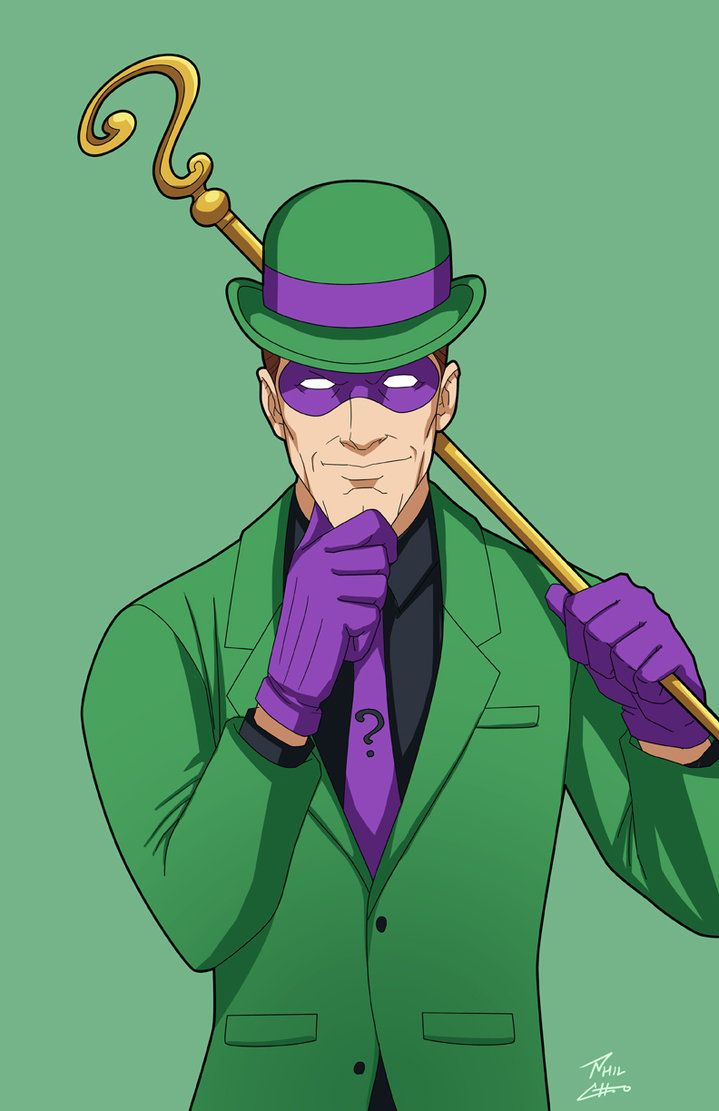 Riddler by phil-cho on DeviantArt