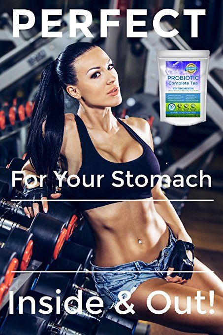 Amazon.com : Victoria's Best Probiotic Complete Tea 28 Day Weight Loss Detox Reduce Bloating Constipation Cleanse Caffeine Free Ganeden BC30 Probiotic + Free E-book Guide : Grocery & Gourmet Food