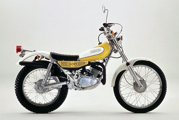 Gorgeous little Yamaha TY125 from days gone by.