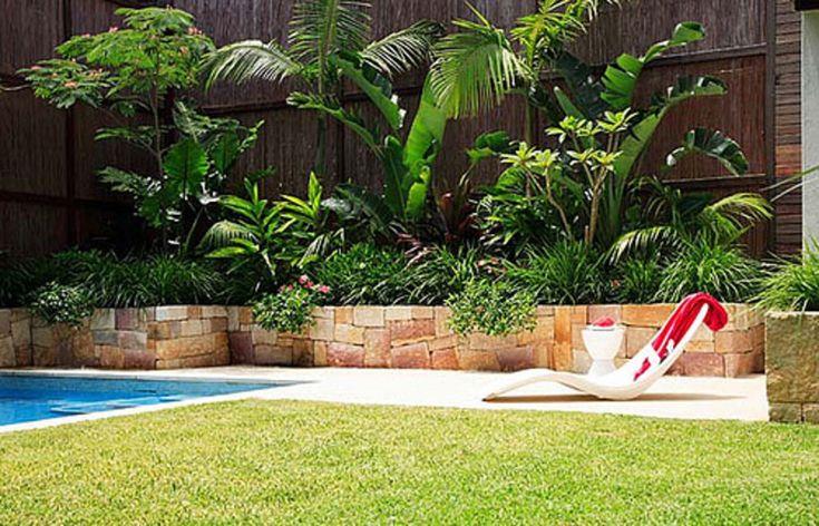 Pool Tropical Landscaping Ideas beautiful pool tropical landscaping ideas r with decor