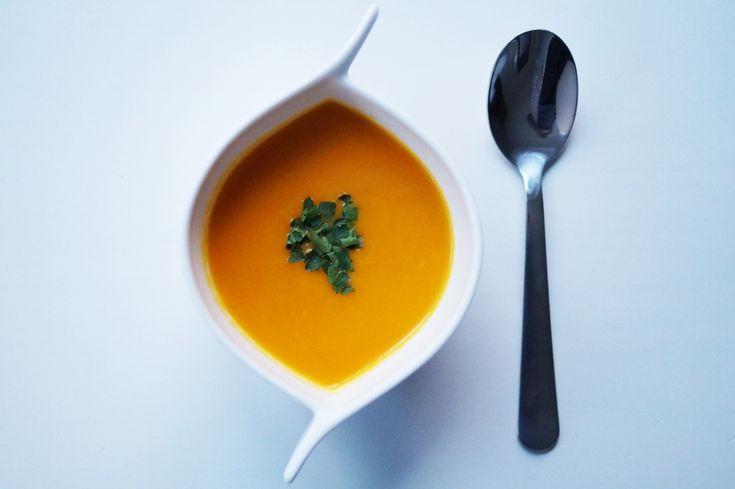 Rozgrzewająca zupka marchewkowa