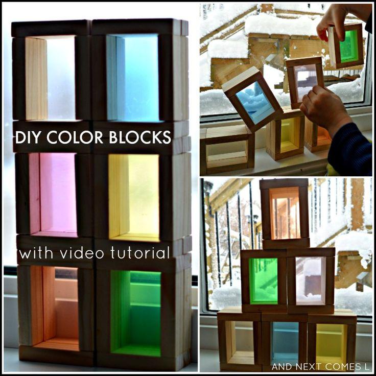 17 Best Images About Color Block On Pinterest: 17 Best Images About Blocks & Building Activities On