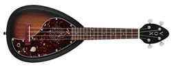 L.A. Music Canada Vox Ukelectric 33 Concert BlackBurst With Built In Amp