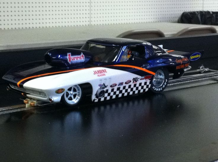 Drag Slot Car built by Sheaves Racing Slots, one of my personal cars.
