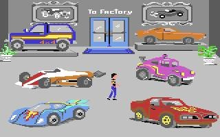 Hot Wheels on Commodore 64