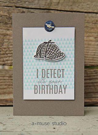 Sherlock! | Let's Make A Card | Bloglovin'