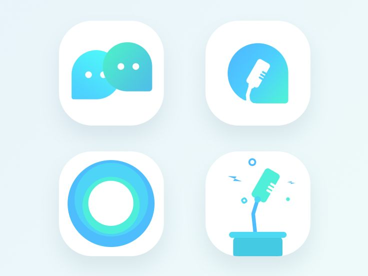 Political Discussion app icon (WIP) by Prakhar Neel Sharma #Design Popular #Dribbble #shots