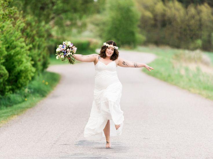 Den vackra och bohemiska bruden