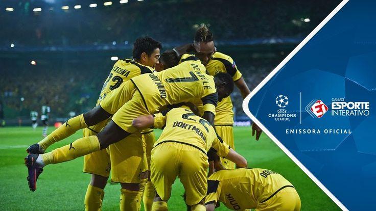 Melhores Momentos - Sporting 1 x 2 Borussia Dortmund - Champions League ...