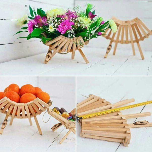 Деревянная ваза РАКУШКА ФРУКТОВНИЦА http://woodyhandmade.com.ua #woodyhandmade #handmade #vase #фруктовница