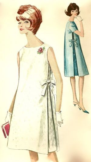 Vintage maternity clothing - Maternity in the 1960s - 1960s dresses.jpg