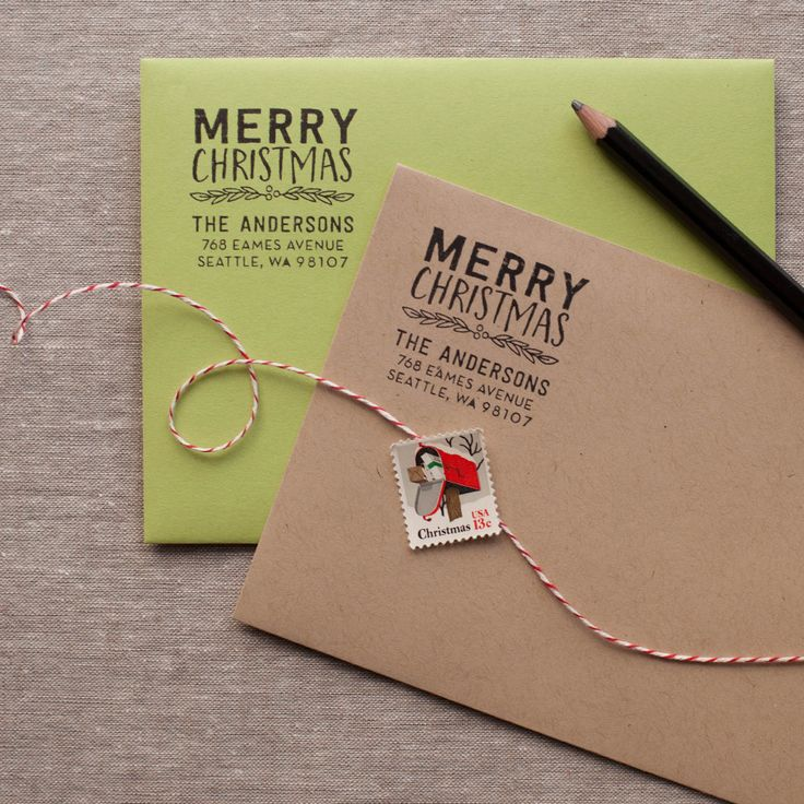 Merry Christmas - Address Stamp                                                                                                                                                     More