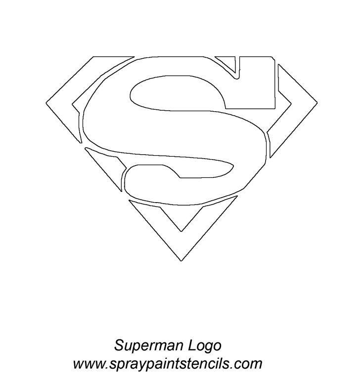 Superman logo pumpkin carving stencil superman coasters craft how to