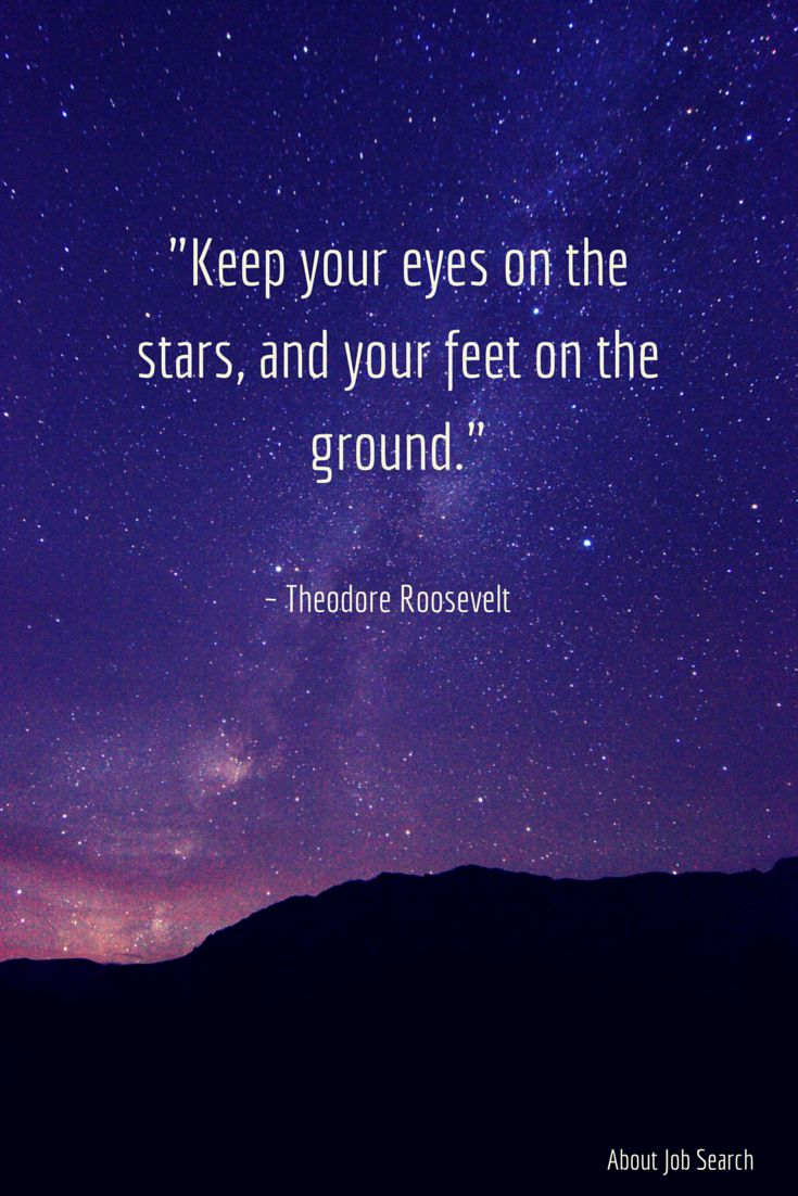 Keep reaching for the stars. #MotivationMonday