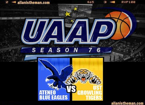 Ateneo UST Dispute Last Spot In UAAP 76 Final Four