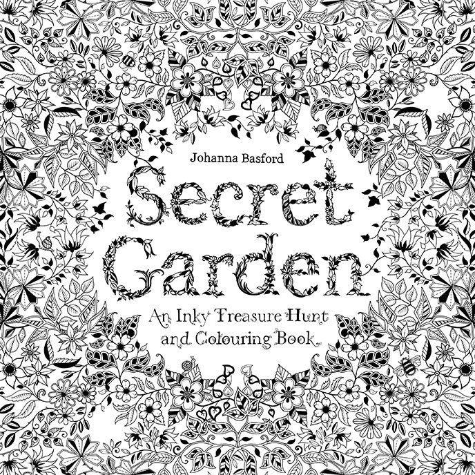 My Secret Garden Coloring Book By Johanna Basford