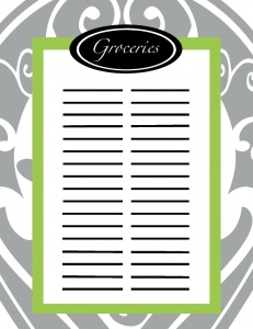 1000+ images about Grocery list on Pinterest   Grocery shopping lists ...