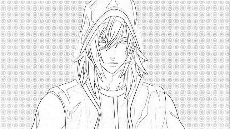 Ren Jinguji Sketch by me.
