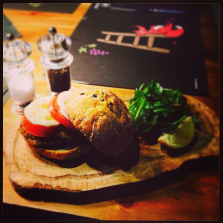 Greek style hamburger #kavourmas