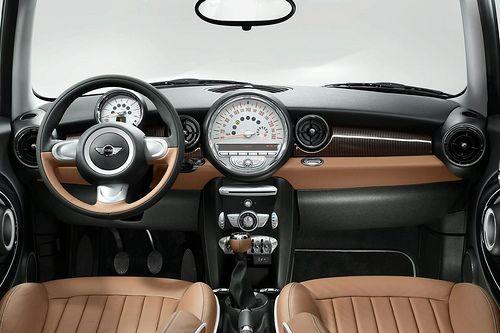 MINI Cooper 50 Mayfair interior