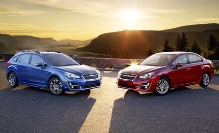 car and driver 10 best: 2015 Subaru Impreza Freshened