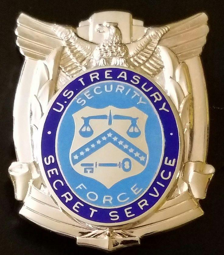 US Treasury Special Officer Secret Service