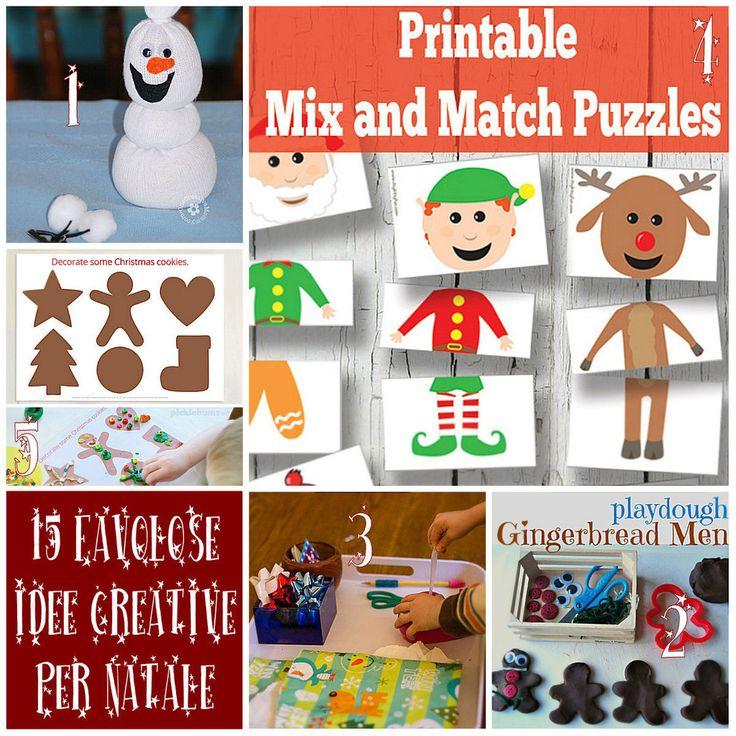 15 Favolose Idee per un Natale Creativo!!