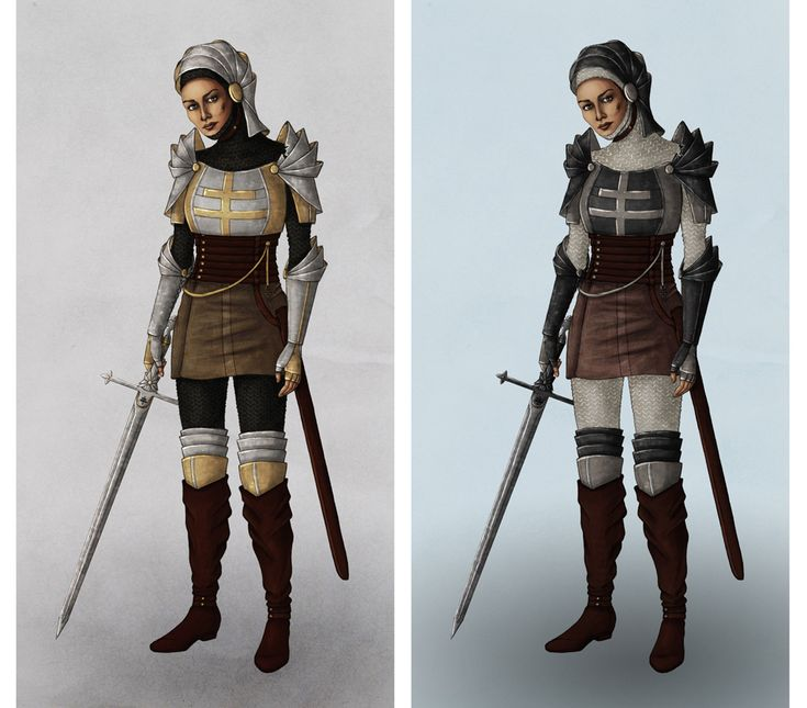 Warm Joan of Arc costumes