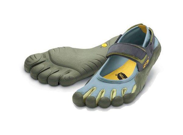 VF48 Women's Vibram FiveFingers SPRINT Shoes-Slate/Palm/Lichen