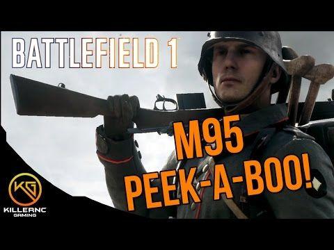 BATTLEFIELD 1 PC GEWEHR M95 PEEK A BOO!