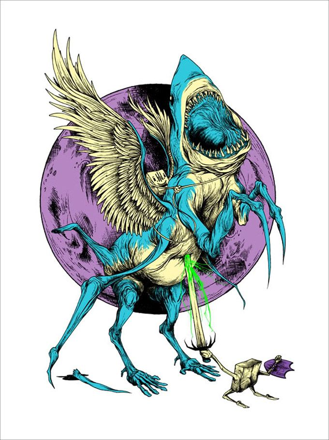 Entre quadrinhos, animações, ilustrações e roupas, existe um elemento constante no trabalho de Alex Pardee: os monstros. Veja aqui as criações abomináveis (algumas, nem tanto) desse talentoso ilust…