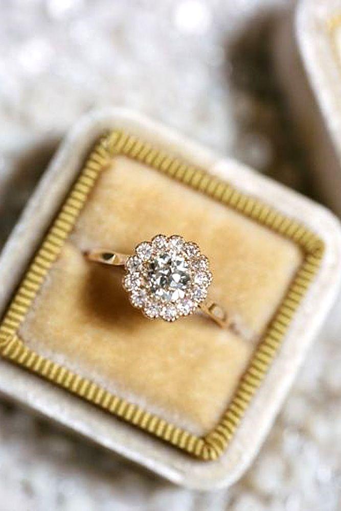 flower wedding rings best photos - wedding rings - cuteweddingideas.com