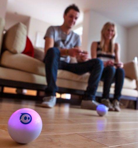 Realidad aumentada con Sphero, que dispone de hasta 20 aplicaciones gratuitas para divertirse.