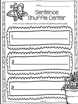 Facts about Plants-Sentence Shuffle Trio: Your students will enjoy learning  more about plants